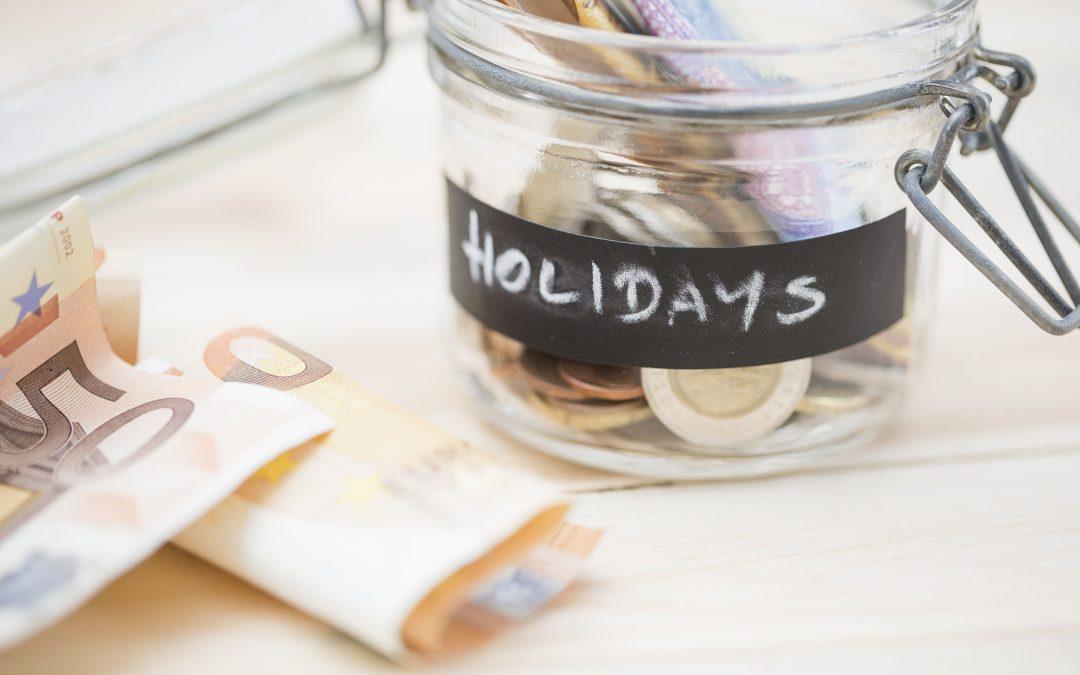 économies pour les vacances