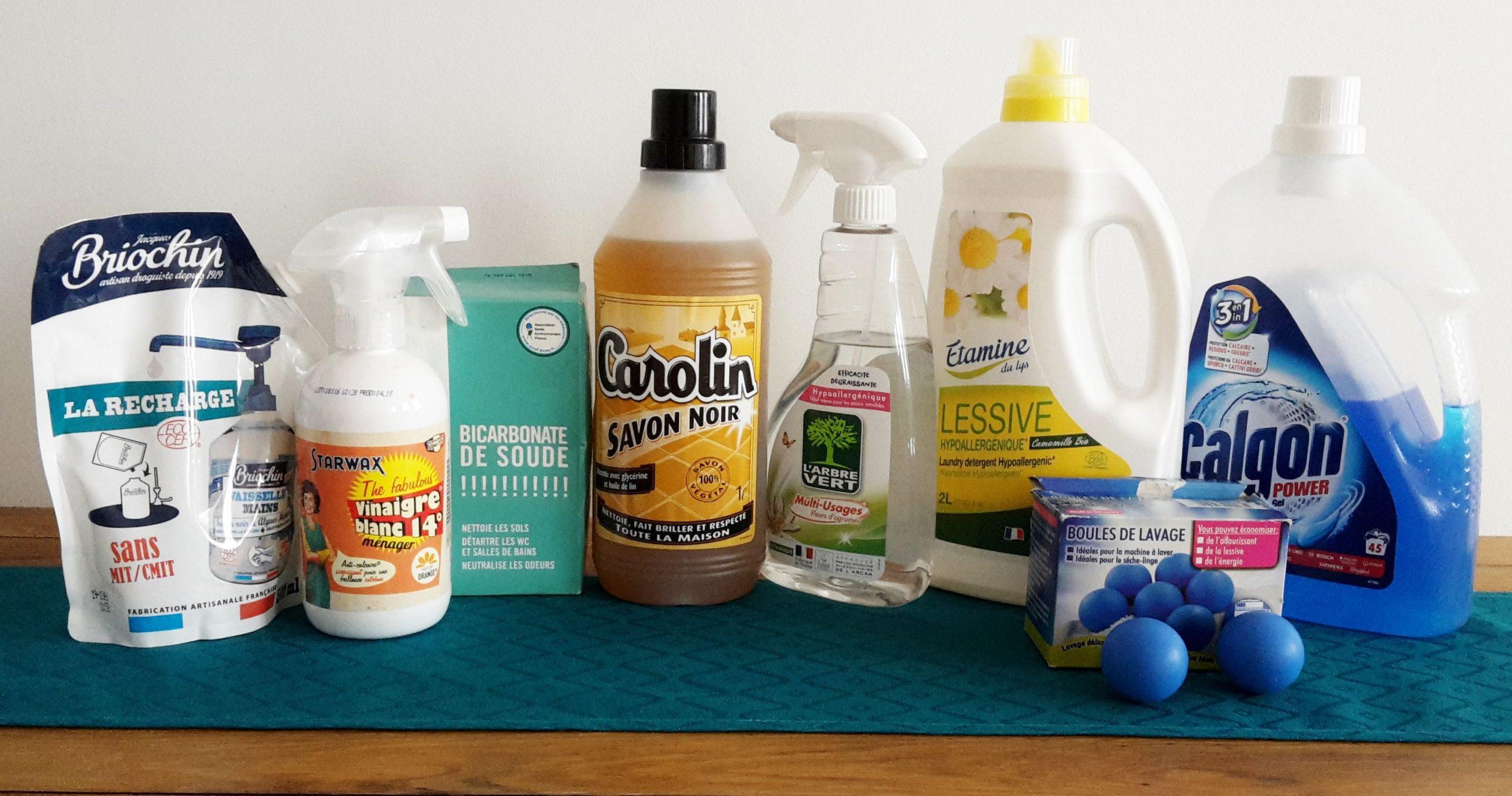 réduire les produits ménagers