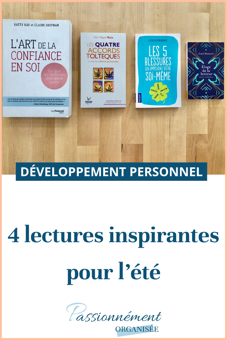 4 lectures inspirantes
