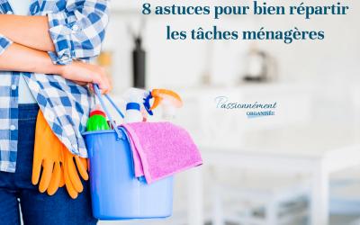 8 astuces pour bien répartir les tâches ménagères