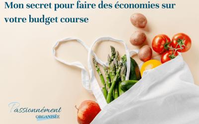 Mon secret pour faire des économies sur votre budget course