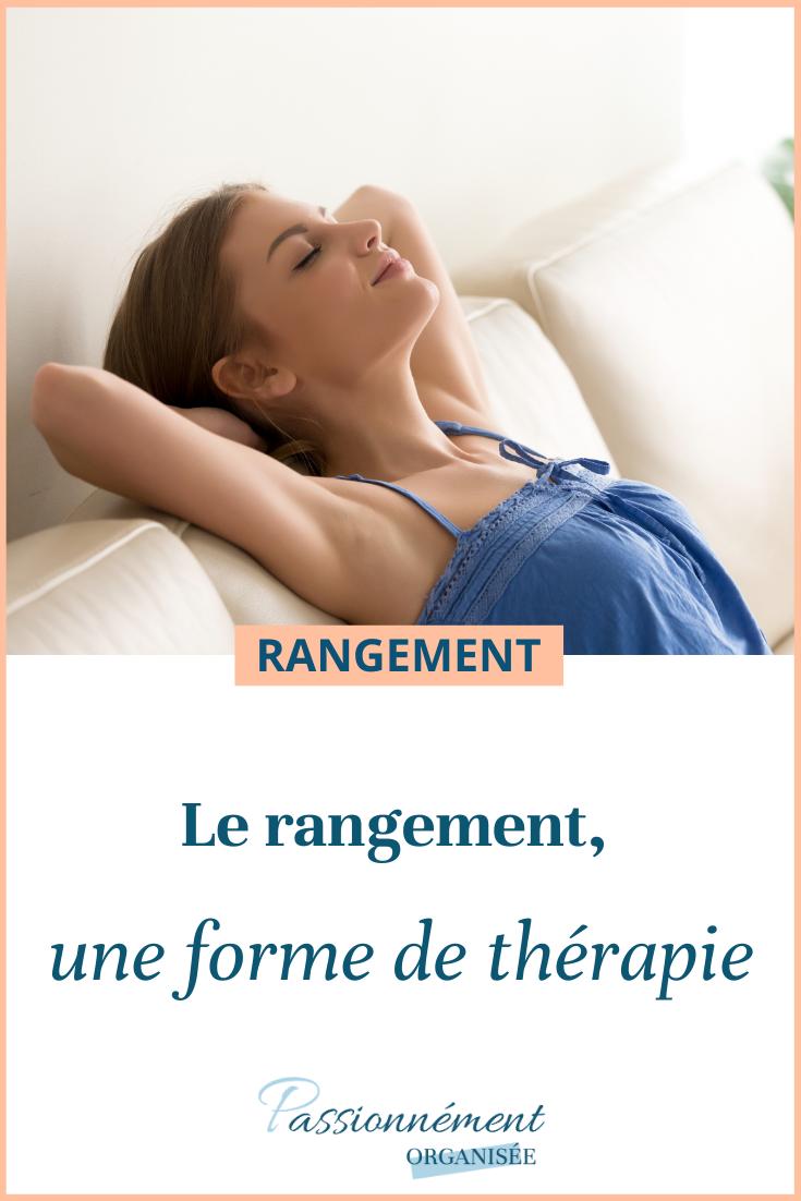 rangement, forme de thérapie