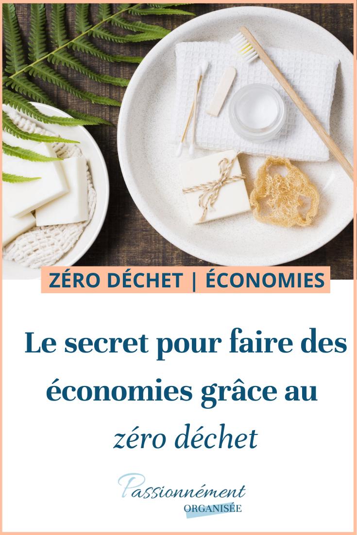 économies grâce au zéro déchet