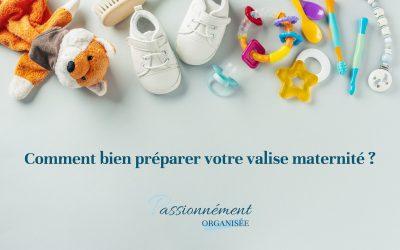Comment bien préparer votre valise maternité ?